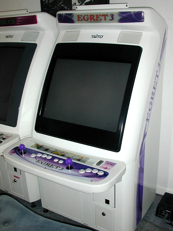 borne arcade egret 3