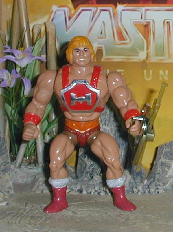 Maîtres de l/'univers Roton rouge pistolet laser Blaster Weapon accessoire part He-man Vintage 1984